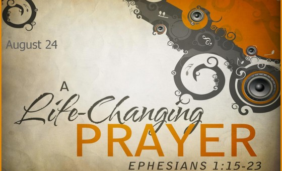 A life changing prayer