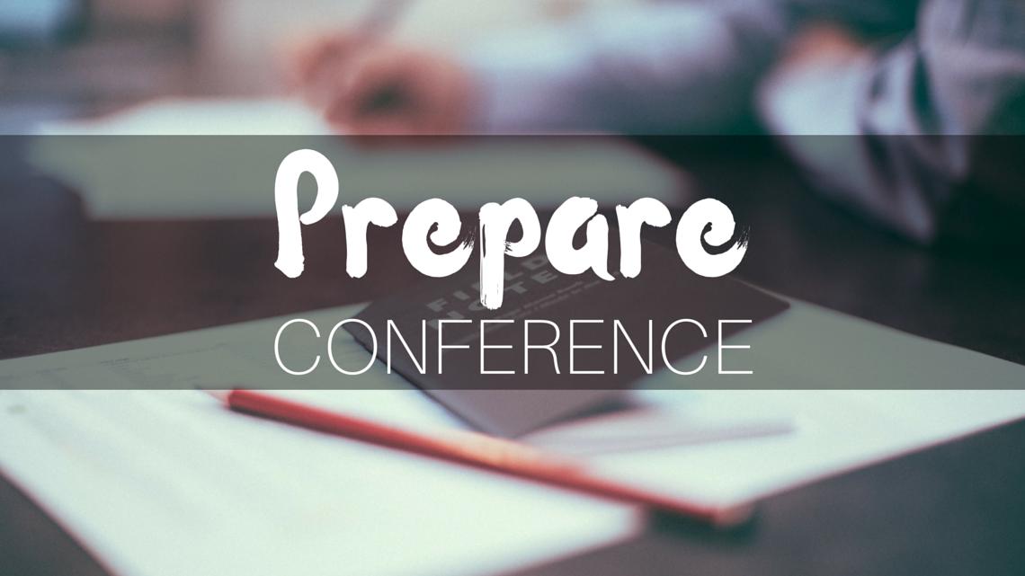 Prepare Conference