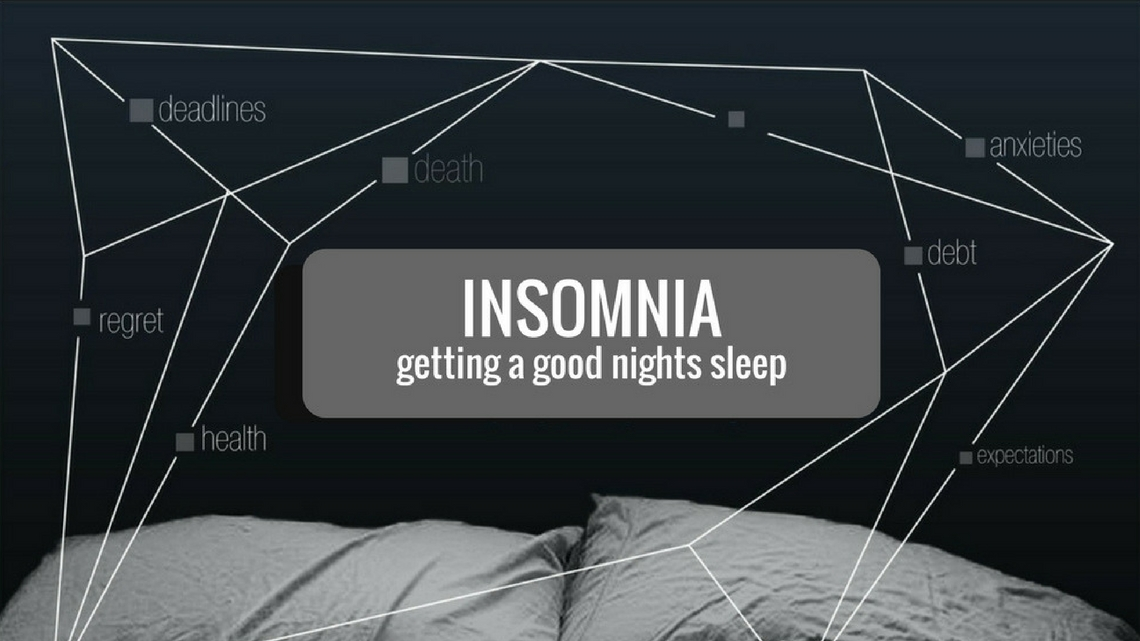 Series: Insomnia - getting a good night's sleep