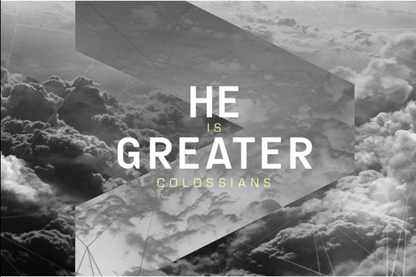 He is Greater